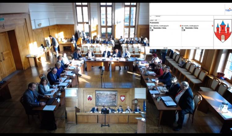XV sesja Rady Miasta Malborka. Zobacz na żywo.