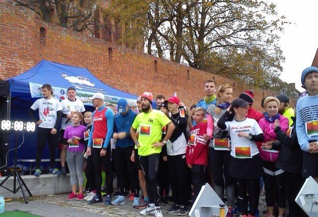 Malbork: Około 200 biegaczy wzięło udział w Biegu Charytatywnym dla
