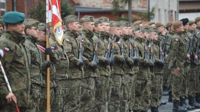 Dobiega końca formowanie 73 batalionu lekkiej piechoty w Słupsku
