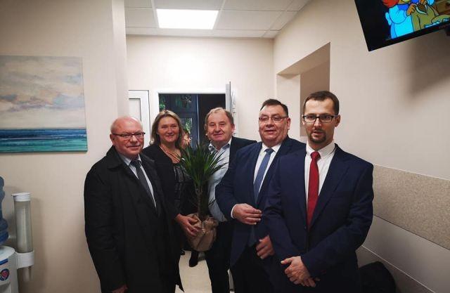 Uroczyste otwarcie Przychodni Podstawowej Opieki Zdrowotnej w Stegnie