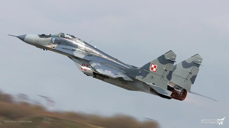 Samoloty MIG-29 wracają na malborskie niebo.