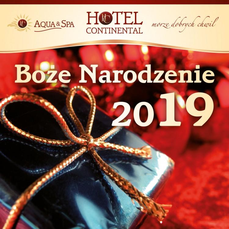 Rodzinne Boże Narodzenie 2019 nad morzem w Krynicy Morskiej. Hotel Continental Aqua & Spa zaprasza.