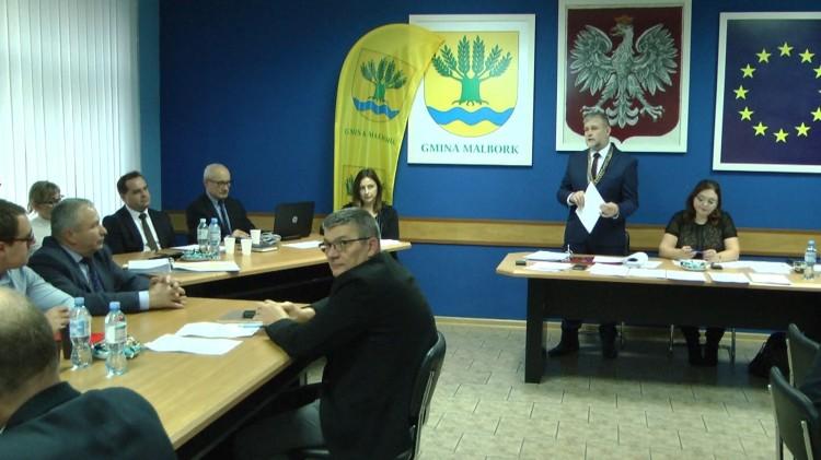 Radni jednogłośni w sprawie budżetu. XI sesja Rady Gminy Malbork.