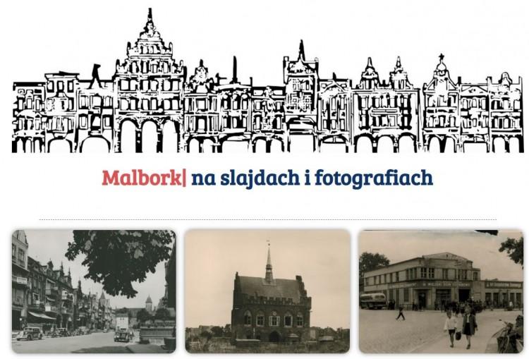 Wybierz się w sentymentalną podróż do przeszłości. Zobacz, jak kiedyś wyglądał Malbork.