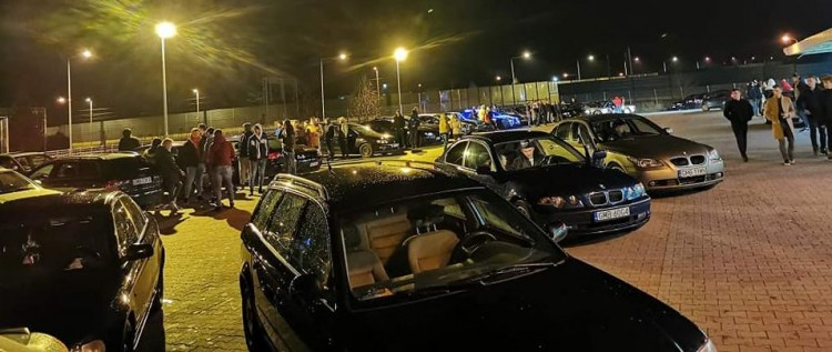Pierwszy zlot CarSpot Malbork 150 aut i 300 osób