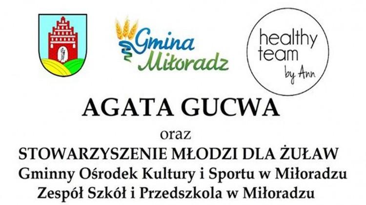 Wspomóż leczenie małego Patryka razem z gminą Miłoradz. Szczegóły na plakacie.