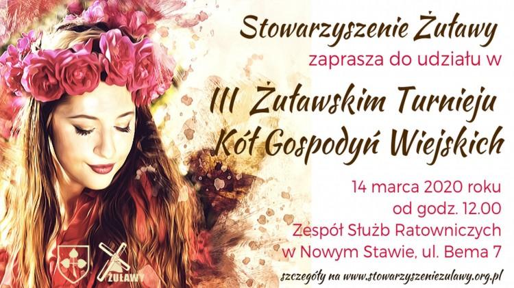 Żuławski Turniej Kół Gospodyń Wiejskich w Nowym Stawie - zaprasza Stowarzyszenie Żuławy.