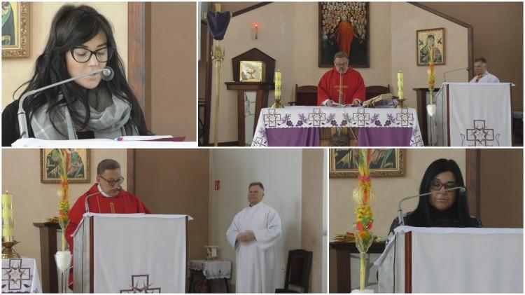 Retransmisja Mszy. Niedziela Palmowa w Parafii Błogosławionych 108 Męczenników Polskich w Malborku - 5 kwietnia 2020