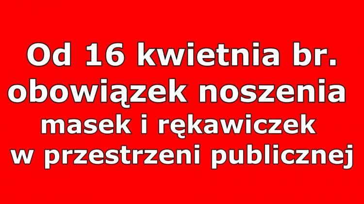 Obowiązujące obostrzenia w Polsce przedłużone do co najmniej 19 kwietnia br.