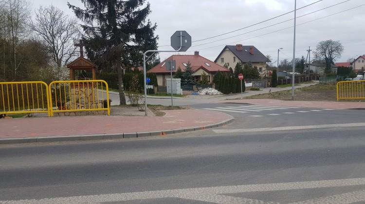 Skrzyżowanie DW515 w Nowej Wsi Malborskiej do przebudowy.