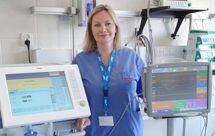 Nowy respirator i kardiomonitor trafił do szpitala w Sztumie.