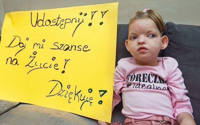 Pomóżmy Julce, małej wojowniczce z Malborka w walce o życie.