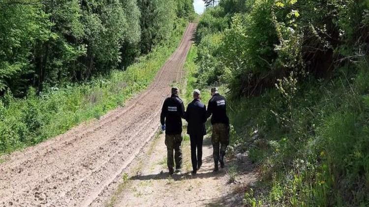 Nielegalnie chcieli przedostać się na teren Niemiec.