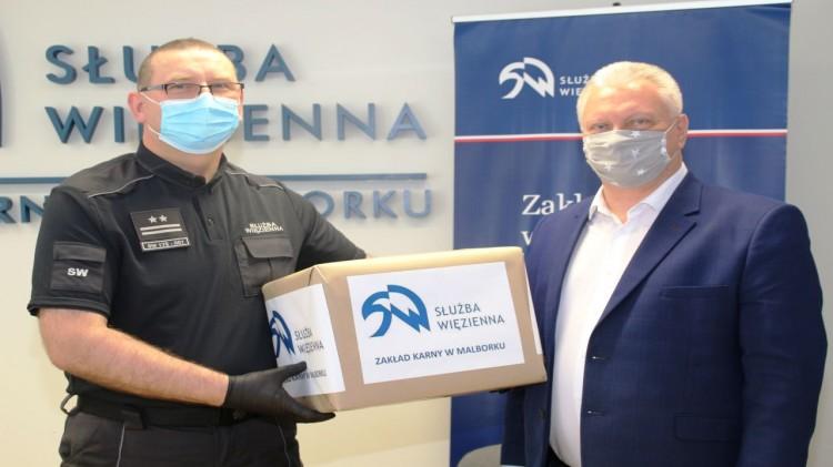 Zakład Karny w Malborku wspomógł gminę Nowy Staw.