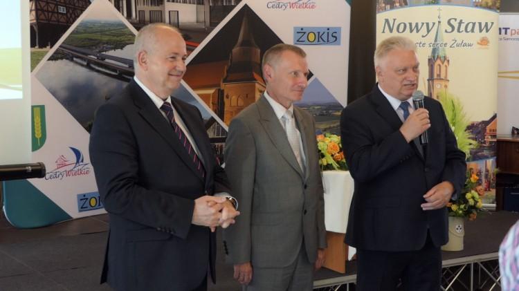 """Podsumowanie projektu żuławskich gmin pn. """"Zachowanie wielokulturowego dziedzictwa Żuław""""."""