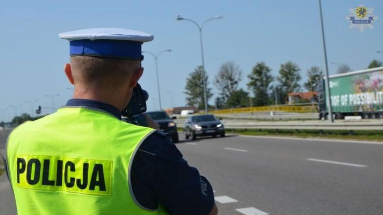 W weekend policyjne działania na drogach powiatu malborskiego.