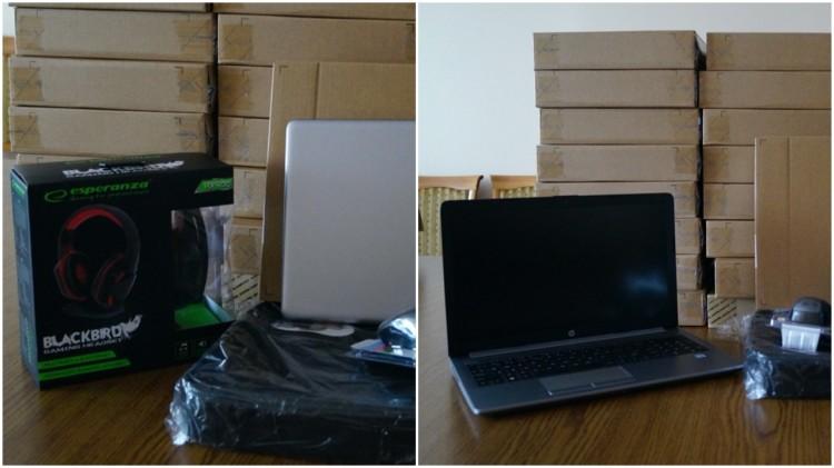 Kolejne laptopy trafiły do szkoły w Nowym Stawie.
