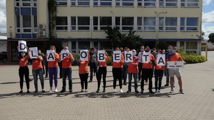 Malborska firma Nyborg–Mawent S.A. w #GaszynChallenge wsparła Roberta Kubiaka.