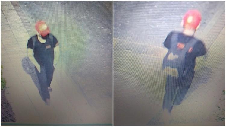 Pomóż policji zidentyfikować sprawcę włamania do samochodu.