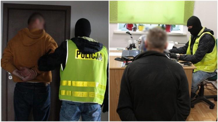 Malbork. Policyjny pościg za złodziejami osobowej Toyoty.