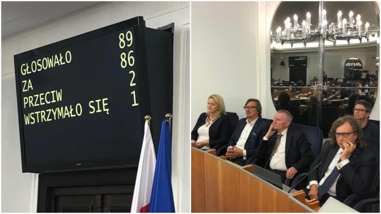 Senat przyjął projekt ustawy o utworzeniu Związku Metropolitalnego w Województwie Pomorskim.