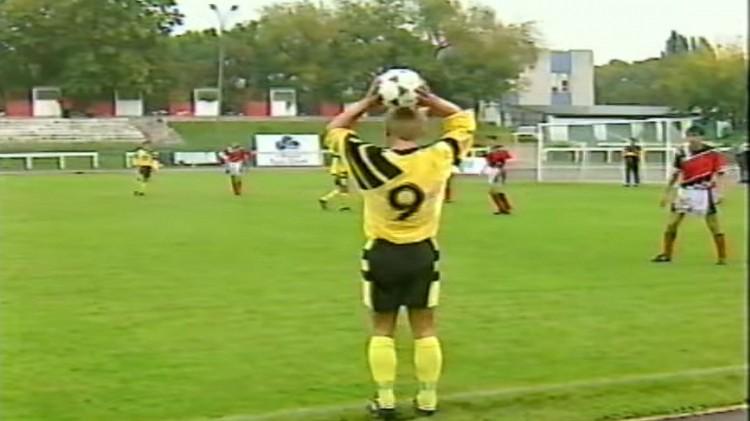 Mecz o Mistrzostwo II Ligi Polonia Warszawa - Pomezania Malbork 20 września 1995 r.