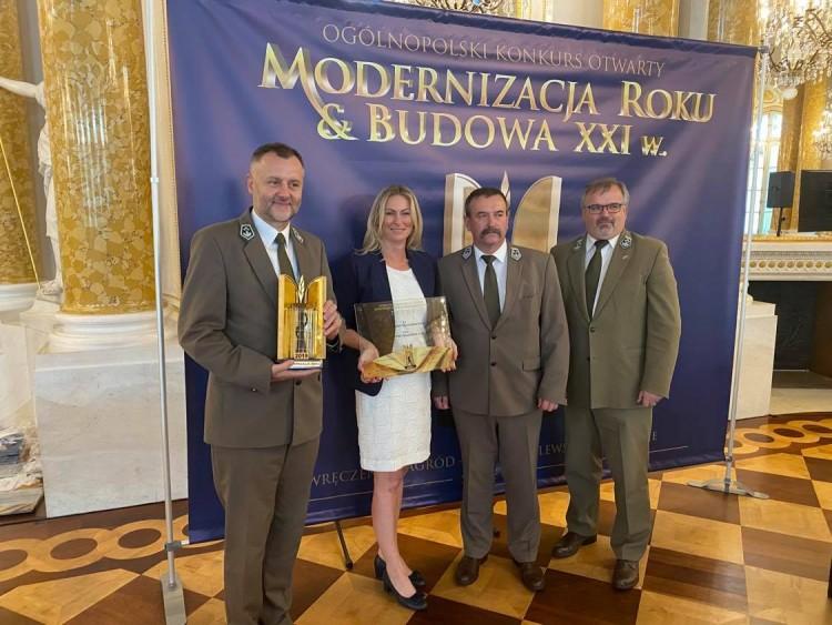 Nadleśnictwo Elbląg z nagrodą Modernizacja Roku 2019.