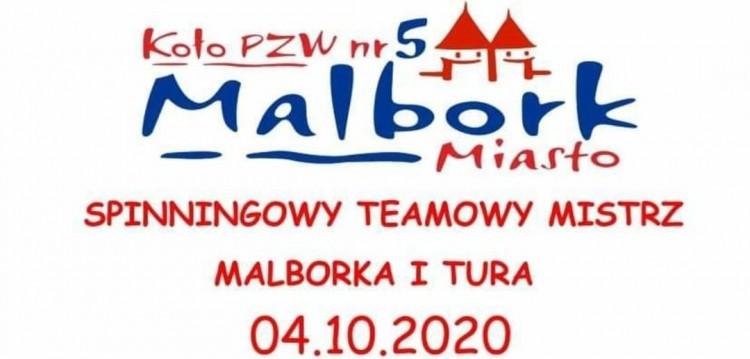 W niedzielę odbędą się zawody o Puchar Spinningowego Teamowego Mistrza Malborka. Szczegóły na plakacie.