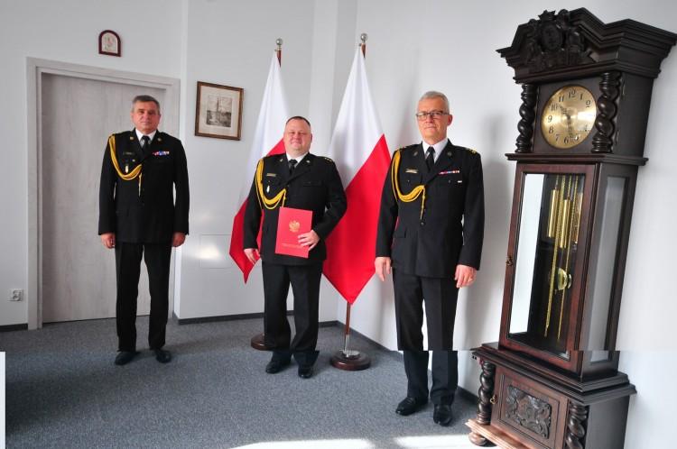 Kpt. Damian Tomaszewski mianowany p.o. zastępcy Komendanta Powiatowego PSP w Malborku.