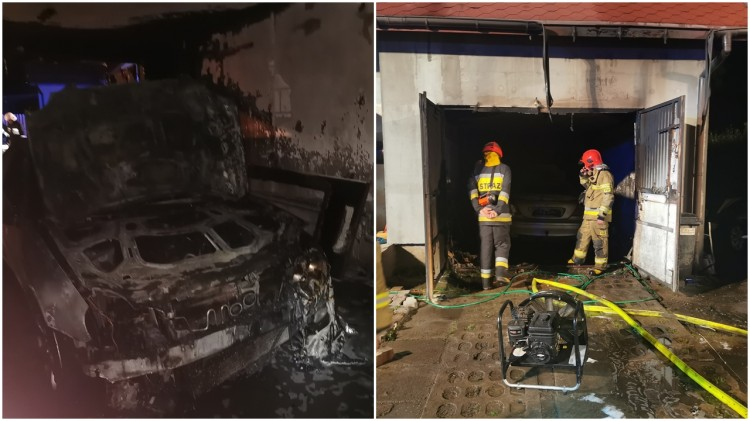 Groźne pożary w powiecie – weekendowy raport malborskich służb mundurowych.