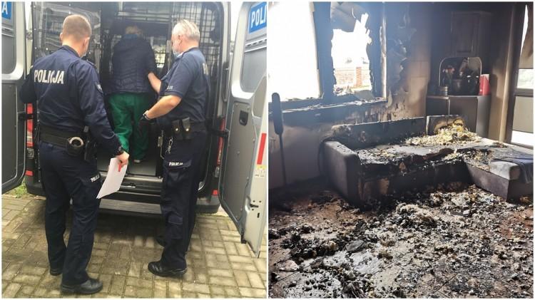 Areszt za rozbój dla 35-latki i pożar na Rakowcu – weekendowy raport malborskich służb mundurowych.
