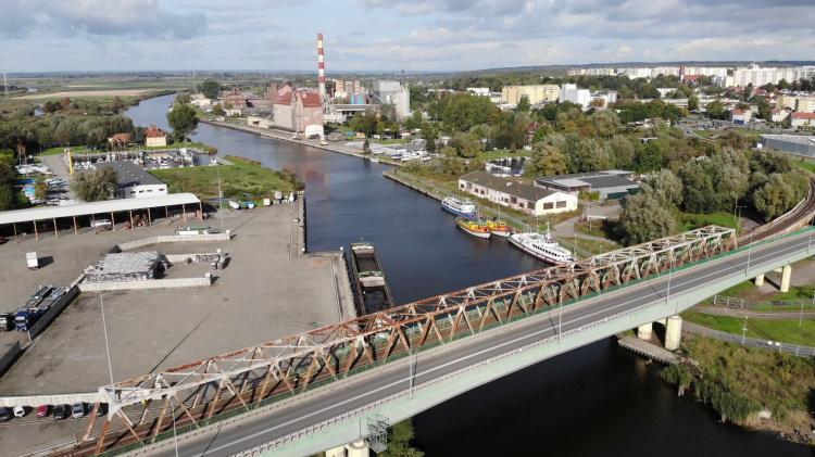 Port w Elblągu. Zobacz wideo z drona