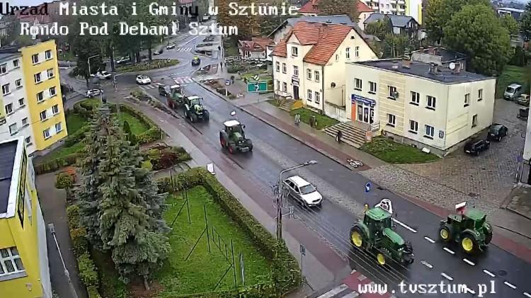 Uwaga, kierowcy! Protestów rolników.
