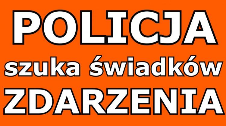 Pomóż policji odnaleźć sprawców zdarzenia.
