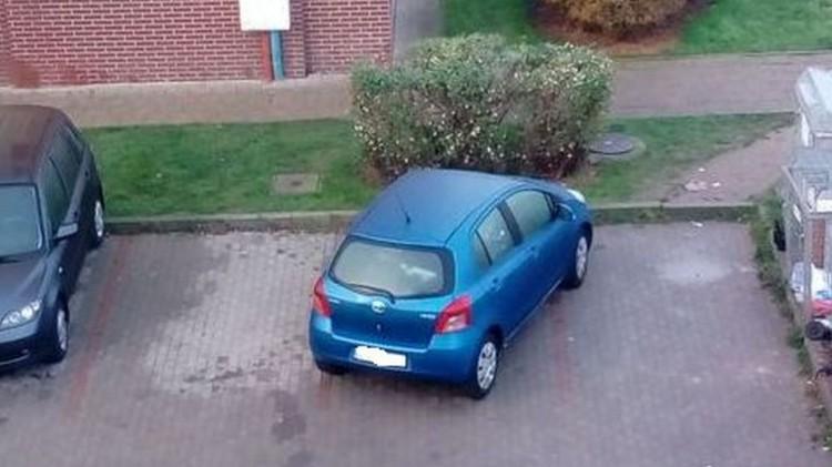 Mistrz (nie tylko) parkowania na Smoluchowskiego w Malborku.