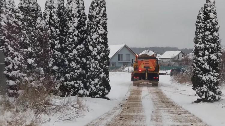 Malbork. Zima znów zaskoczyła drogowców?
