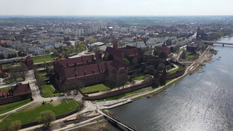 Malbork. Muzeum Zamkowe otwiera się dla zwiedzających.
