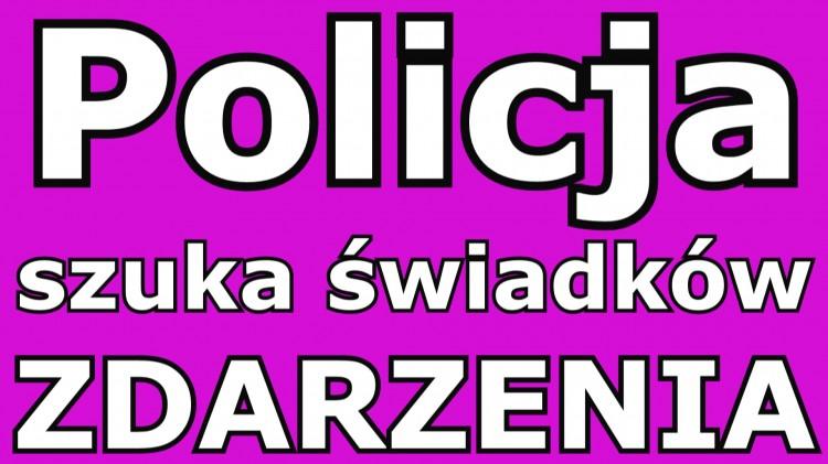 Malbork. Policja szuka świadków zdarzenia przy Piłsudskiego.
