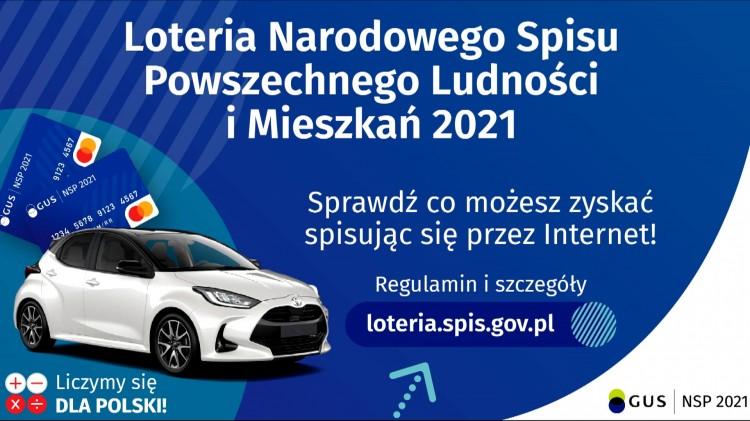Gmina Malbork. Weź udział w loterii Narodowego Spisu Powszechnego 2021 i zgarniaj nagrody.