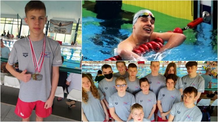 Malbork. 28 medali pływaków MAL WOPR na zawodach w Giżycku.