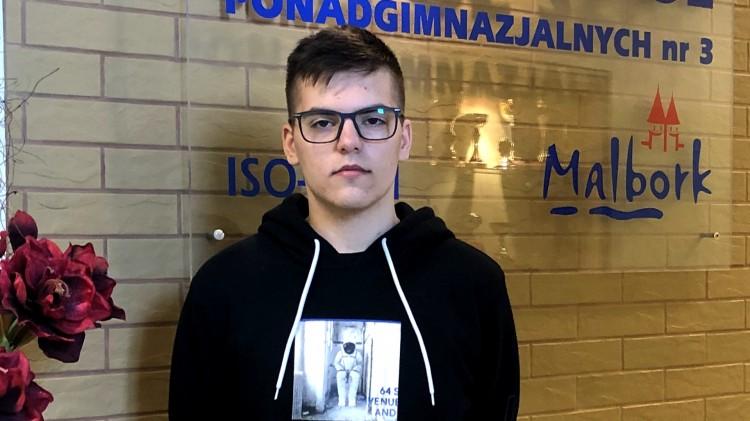 Malbork. Ogólnopolski sukces ucznia ZSP3.