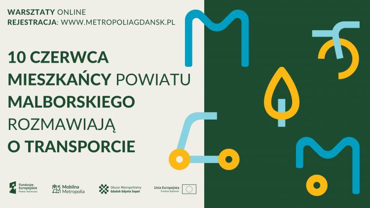 Warsztaty online #MobilnaMetropolia - porozmawiajmy o transporcie w twojej miejscowości.