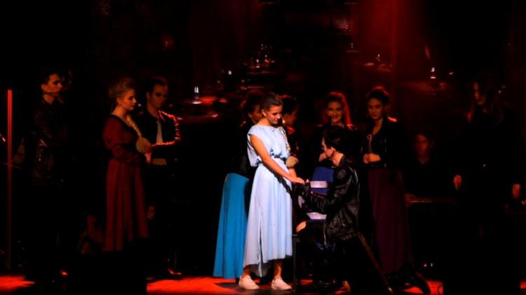 Malbork. Rock Opera Krzyżacy w wykonaniu młodzieży ponownie na deskach Karwanu.