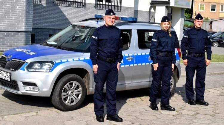 Malbork. Nowi policjanci w szeregach.