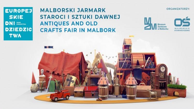 Szykuj się na weekend - Malborski Jarmark Staroci i Sztuki Dawnej zaprasza.