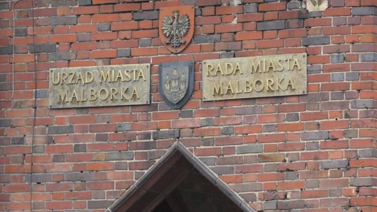 Malbork. XXXVI sesja Rady Miasta