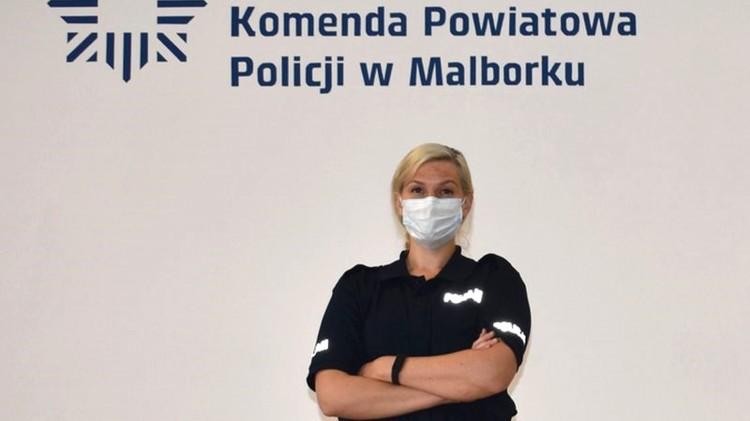 Malbork. Nowa policjantka w komendzie – trwa nabór do służby.