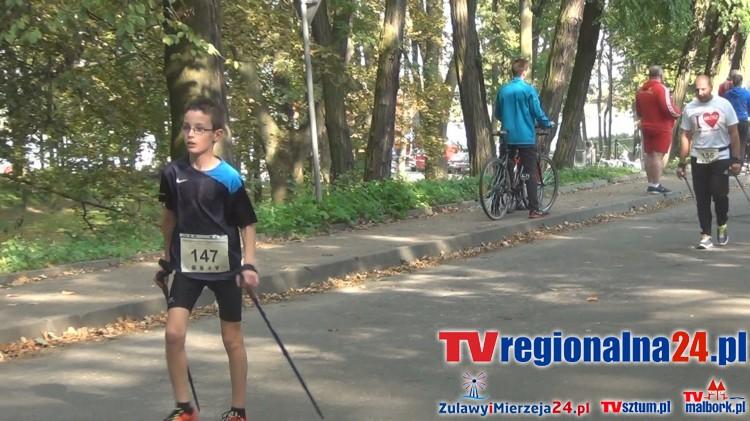 Bieg i marsz charytatywny dla Miłosza w Malborku- 04.10.2015