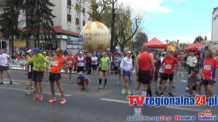 Wielkie święto biegania w Sztumie. 26. Międzynarodowy Bieg Solidarności - 03.05.2016