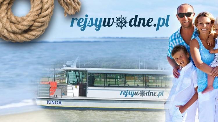 Przeżyj swą prawdziwą przygodę na pokładzie statku Kinga! Rejsy wodne…